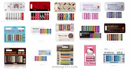 overview eneloop limited editions