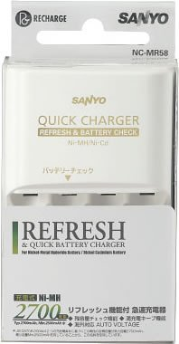 4bay charger with Refresh function